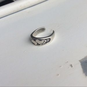 Sterling Silver Foot Toe Ring